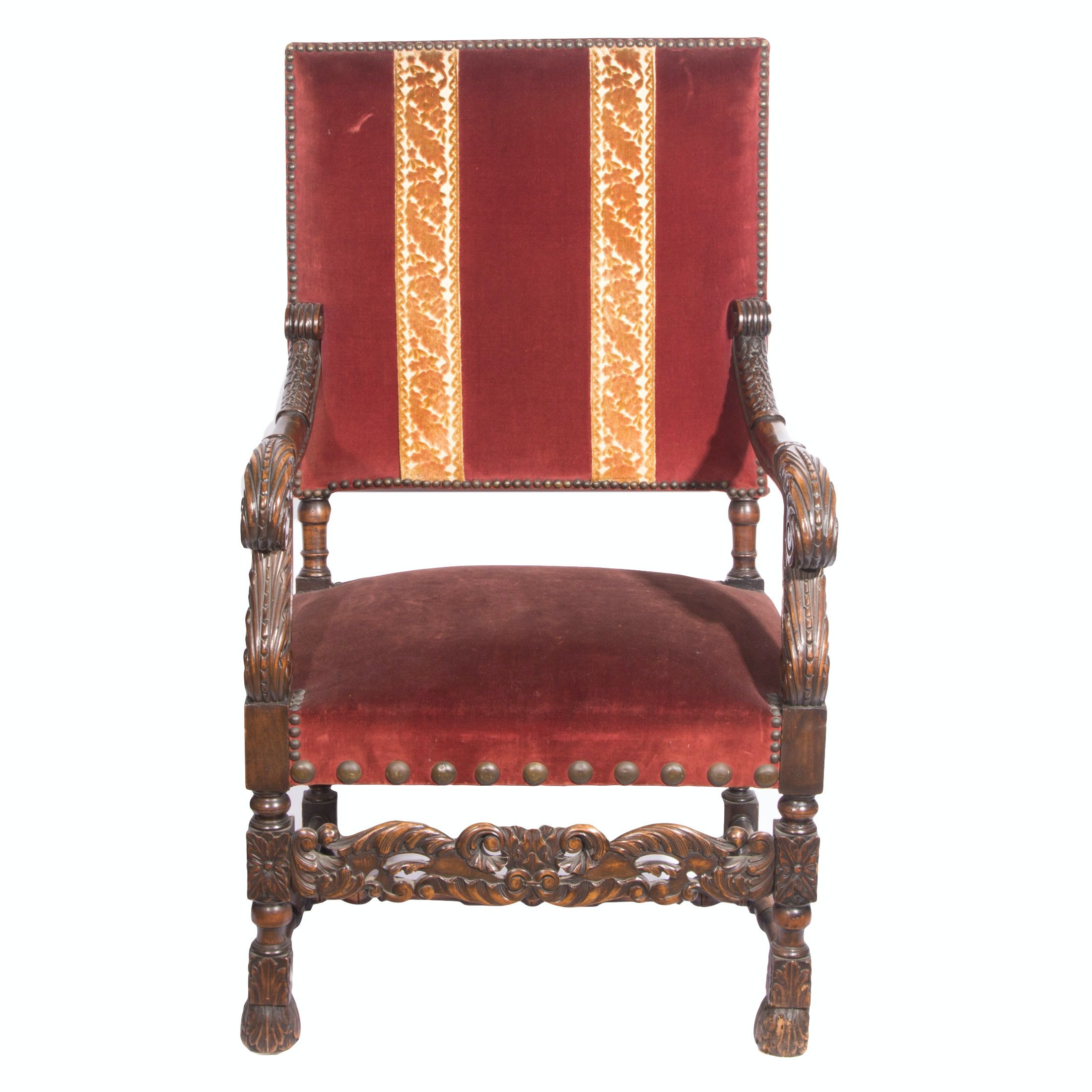 Early 20th Century Baroque Style Armchair