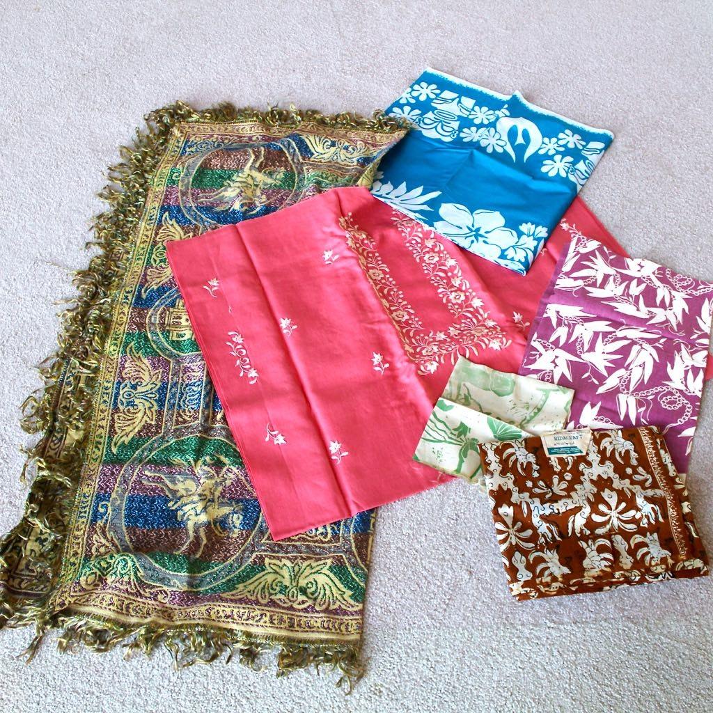 Selecton of Sarongs and Throws
