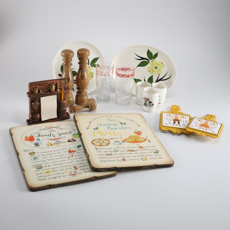 Collection of Vintage Kitchenalia