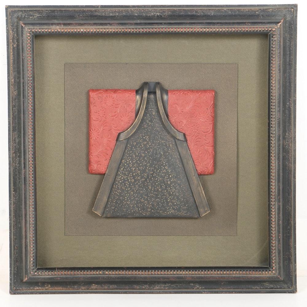 Resin Red Kimono From Bombay Company