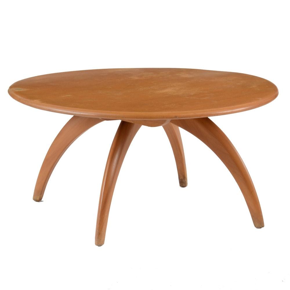 Heywood Wakefield Spinning Coffee Table