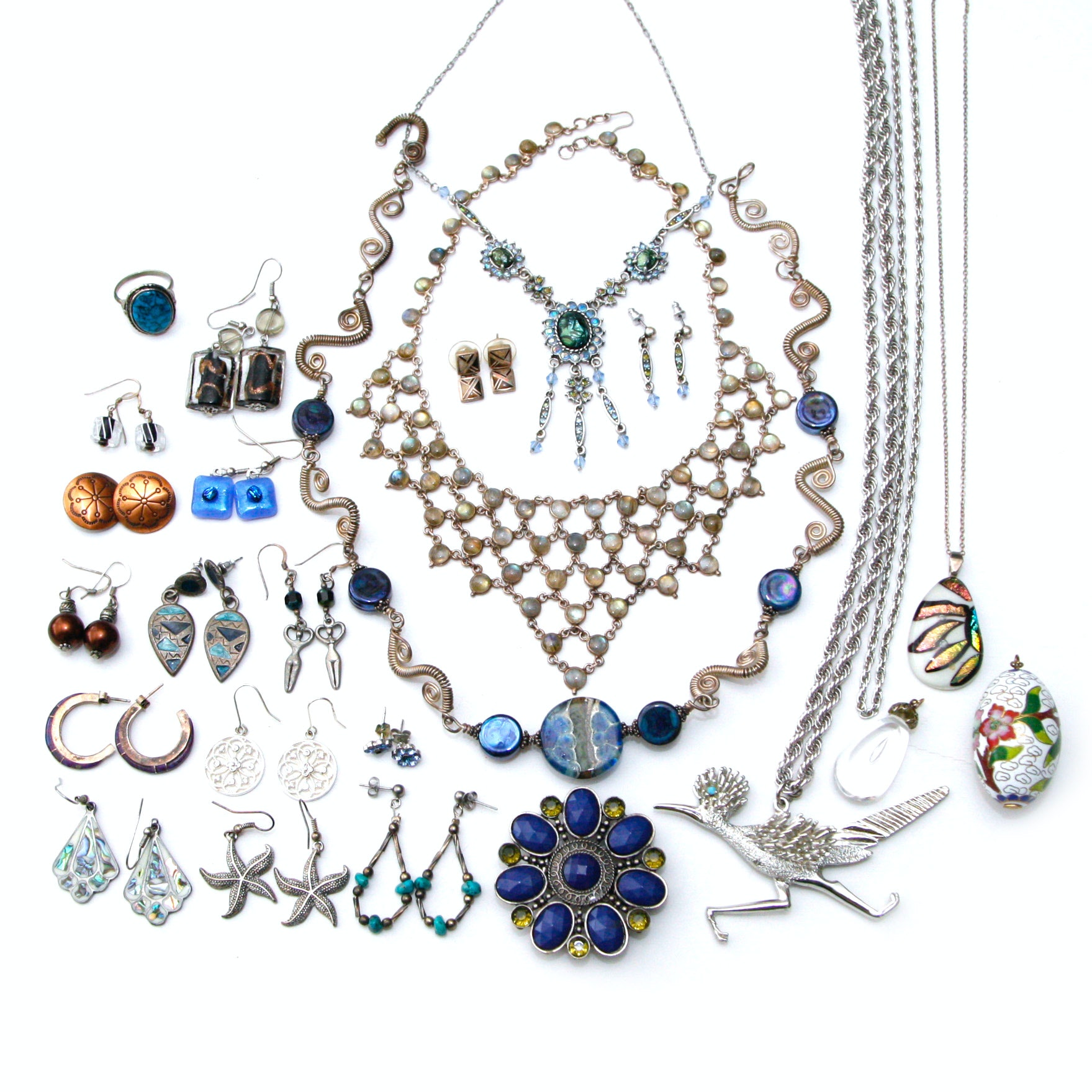 Coordinating Costume Jewelry Group