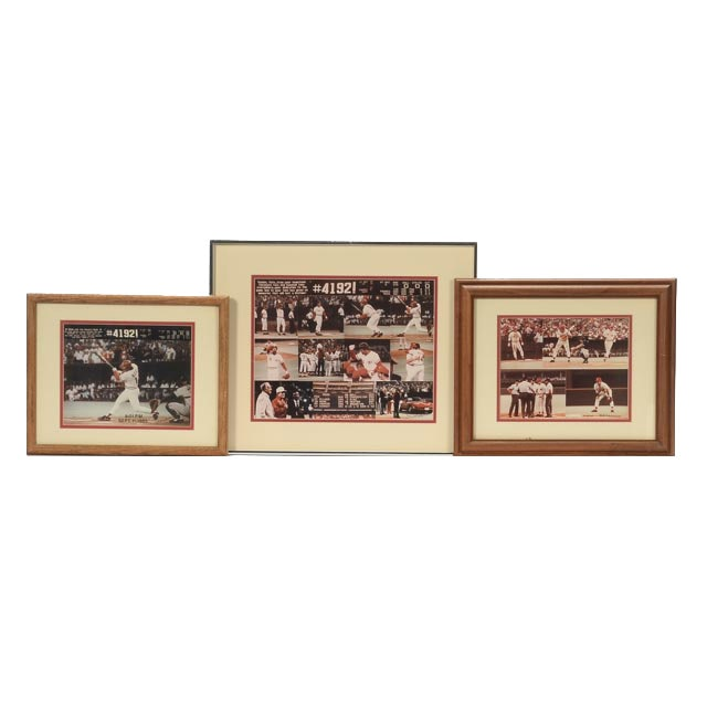 Pete Rose Framed Pictures