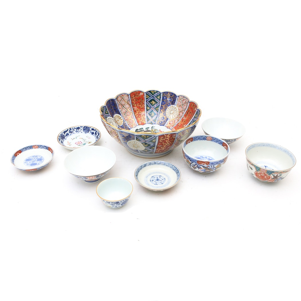 Collection of East Asian Ceramic Bowls