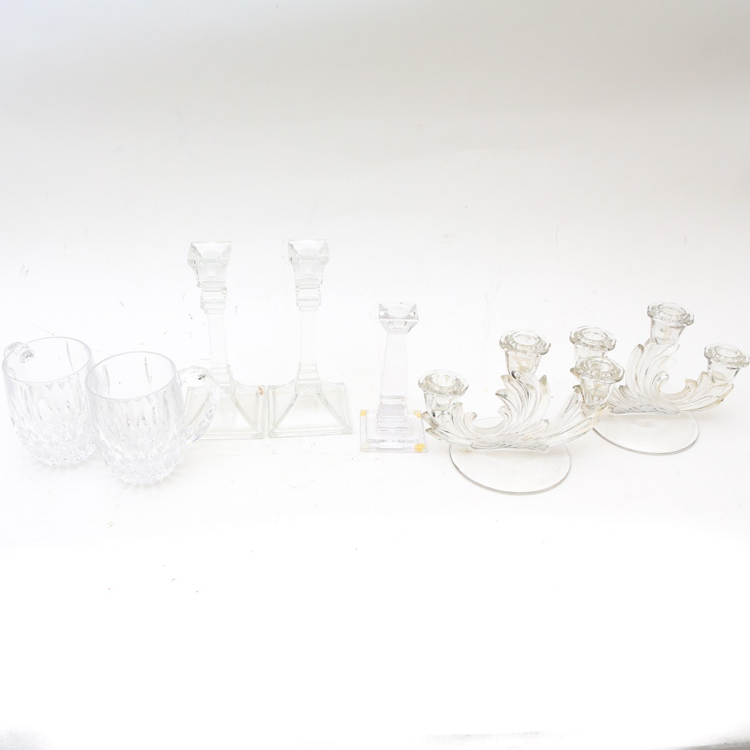 Collection of Crystal Decor