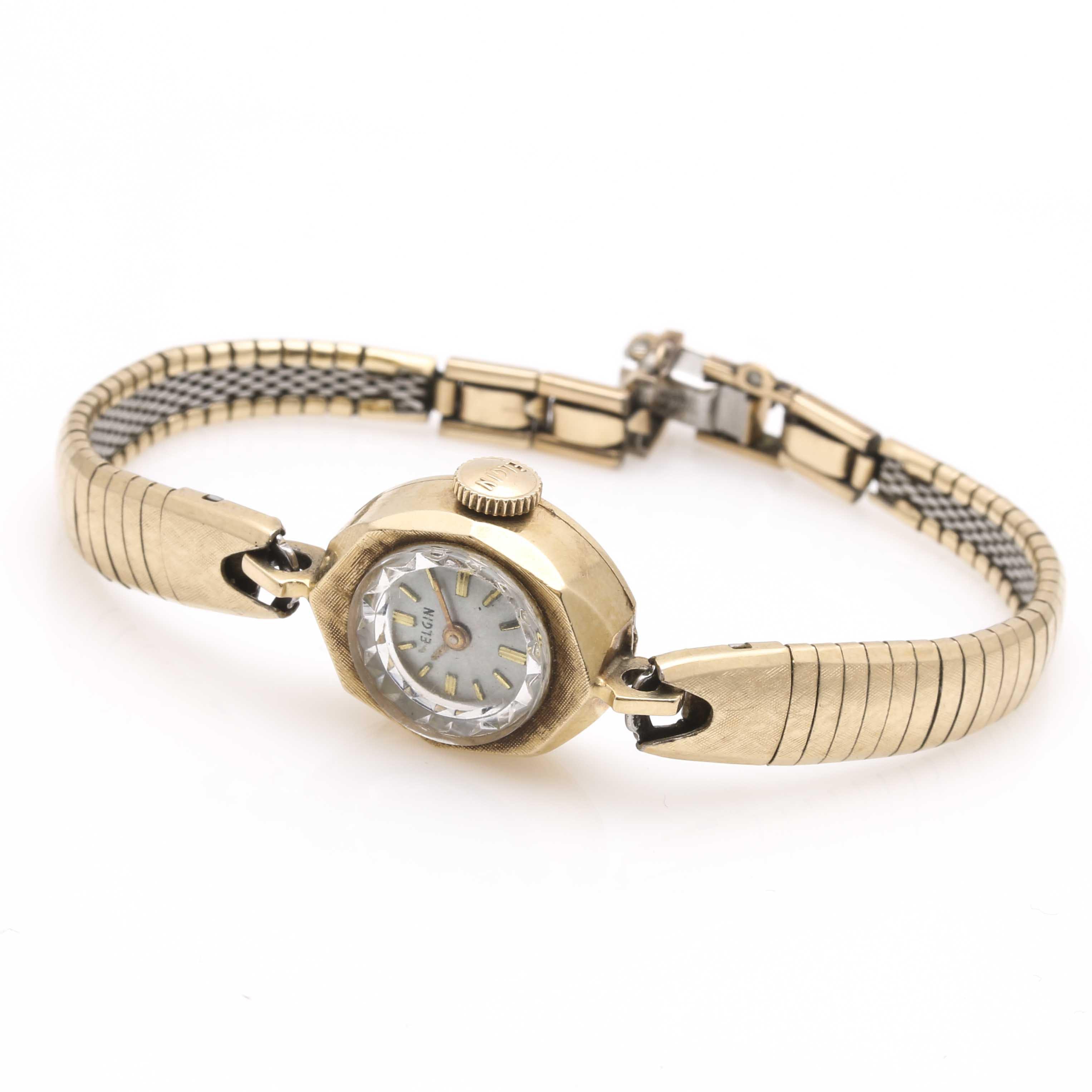 Elgin 14K Yellow Gold Wristwatch