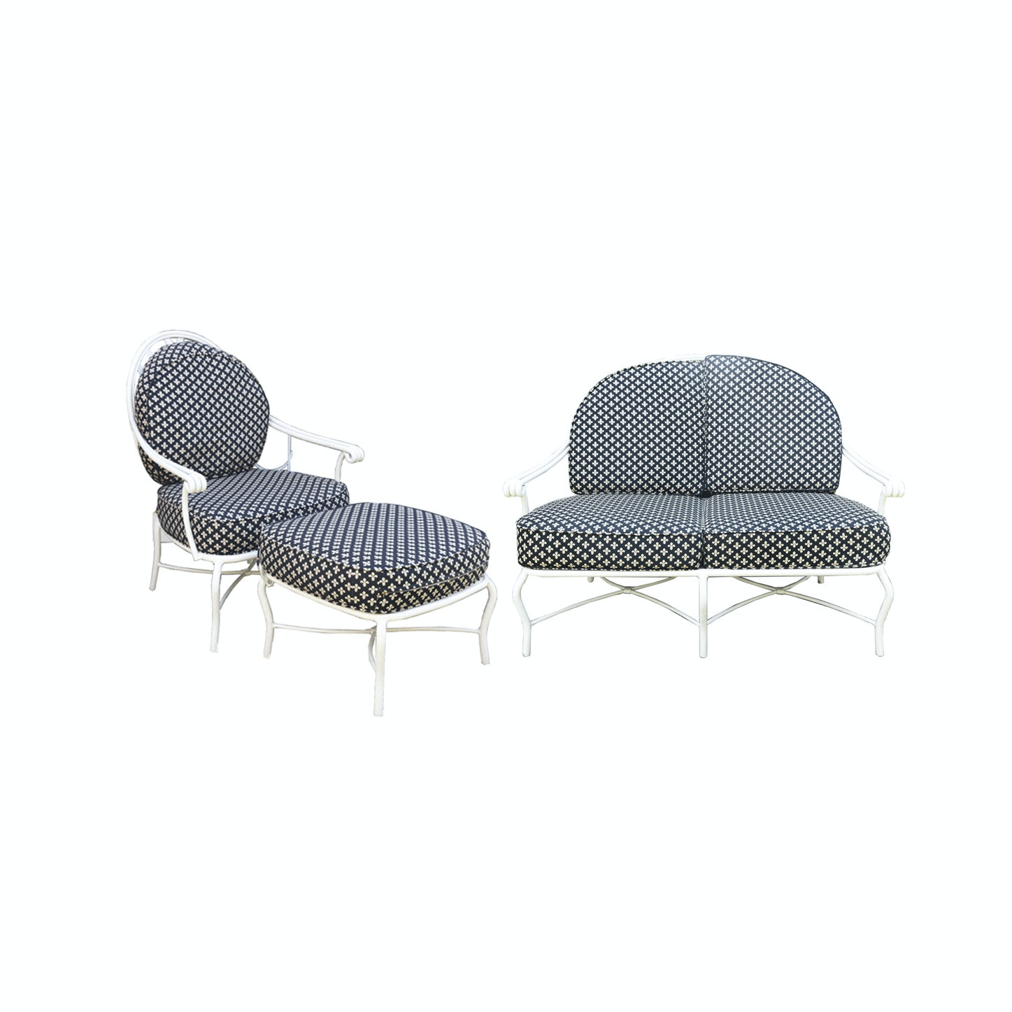 Metal Patio Furniture Set