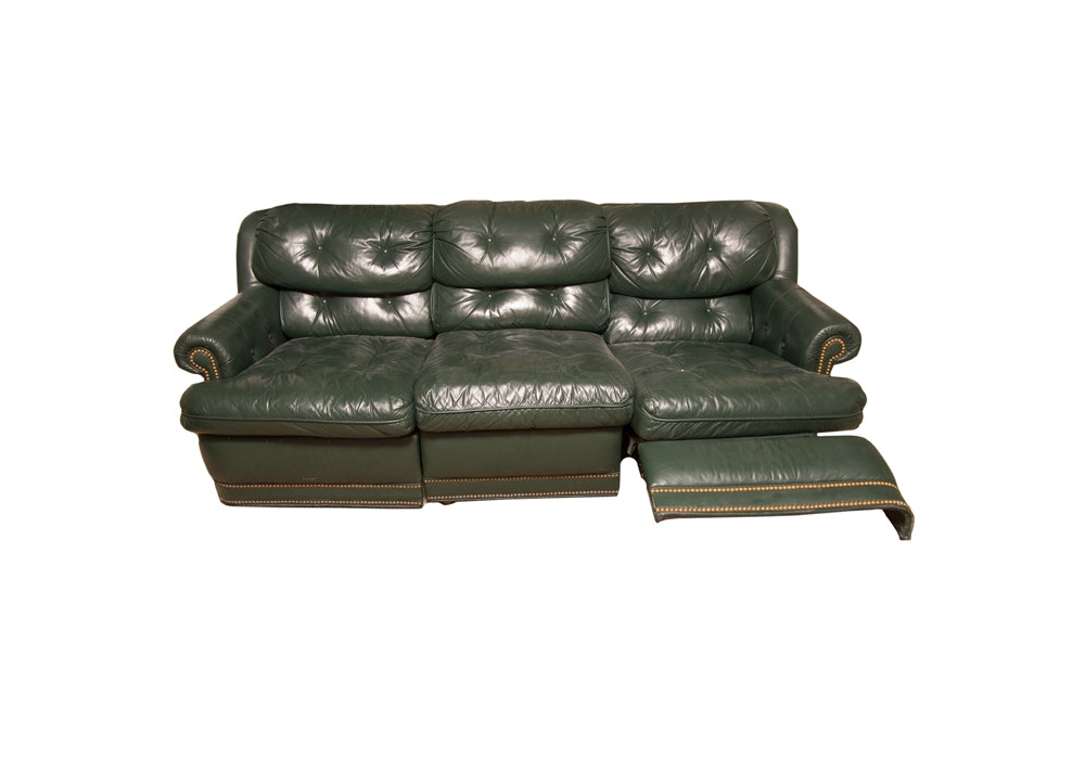 Leather Sofa by Century Furniture Industries