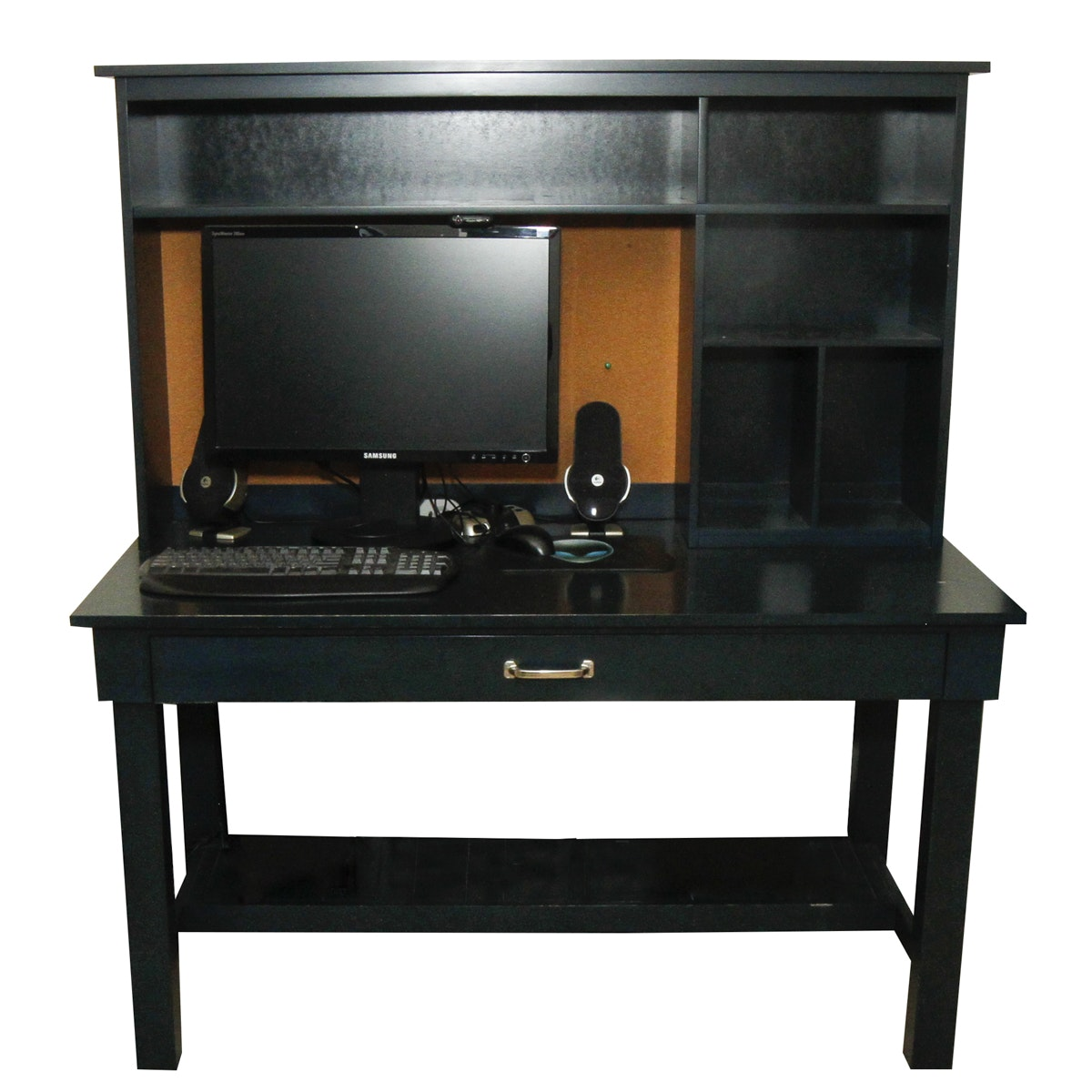 Office Deck and Hutch