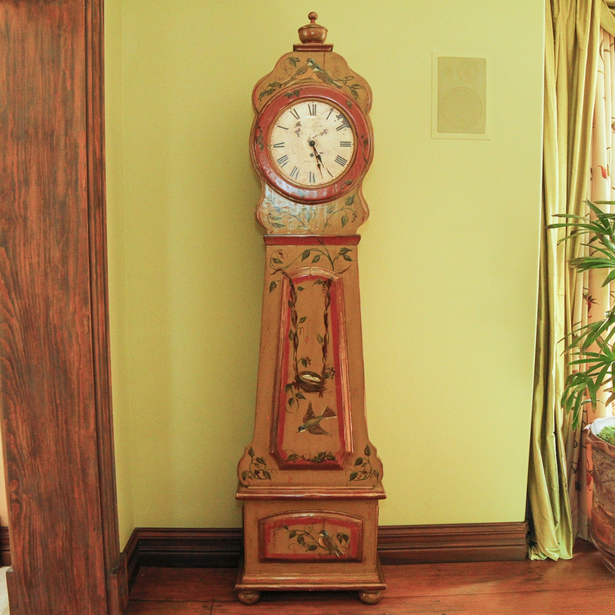 Reproduction Swedish Grandfather Clock