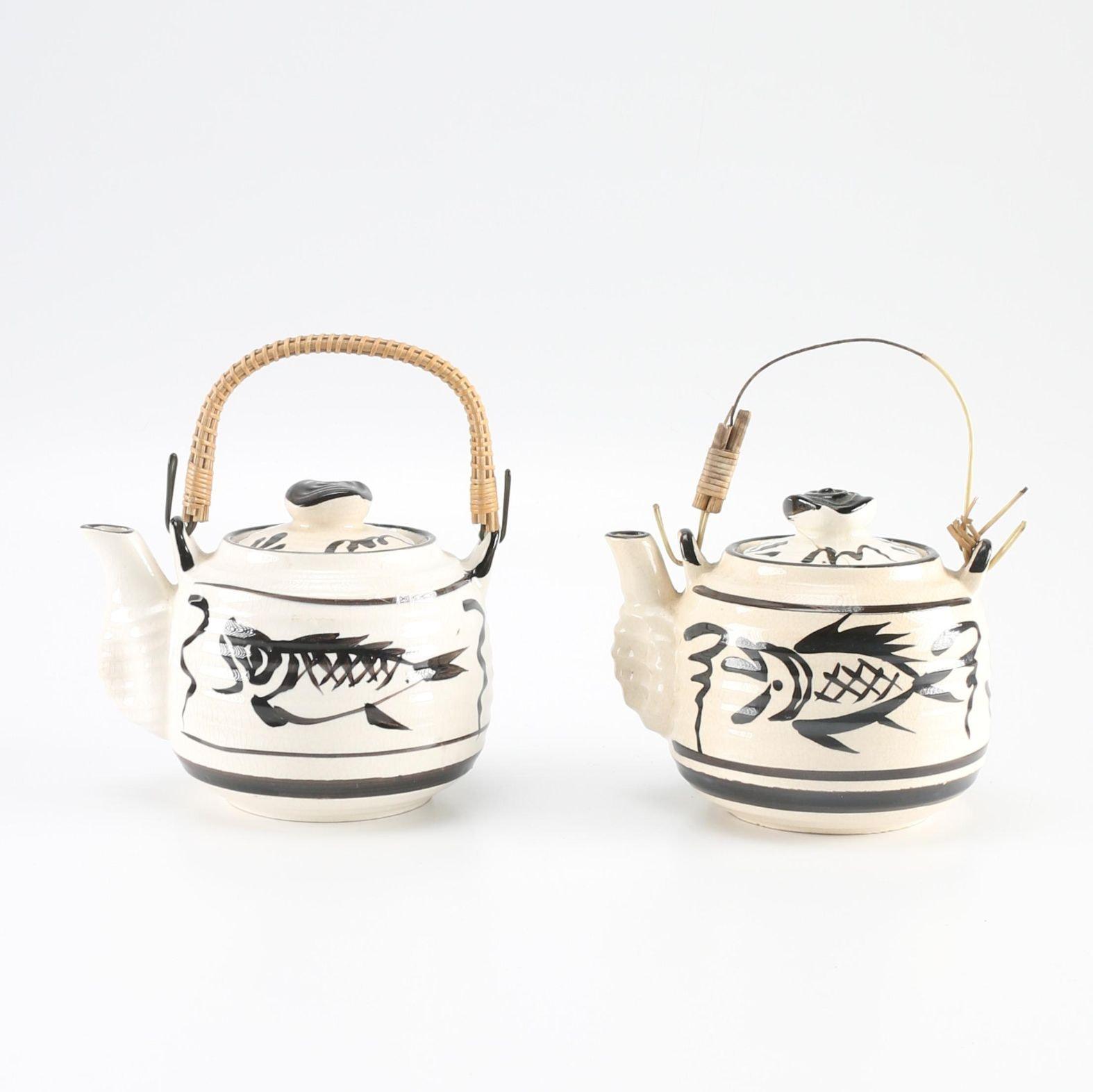 Japanese Fish Teapots