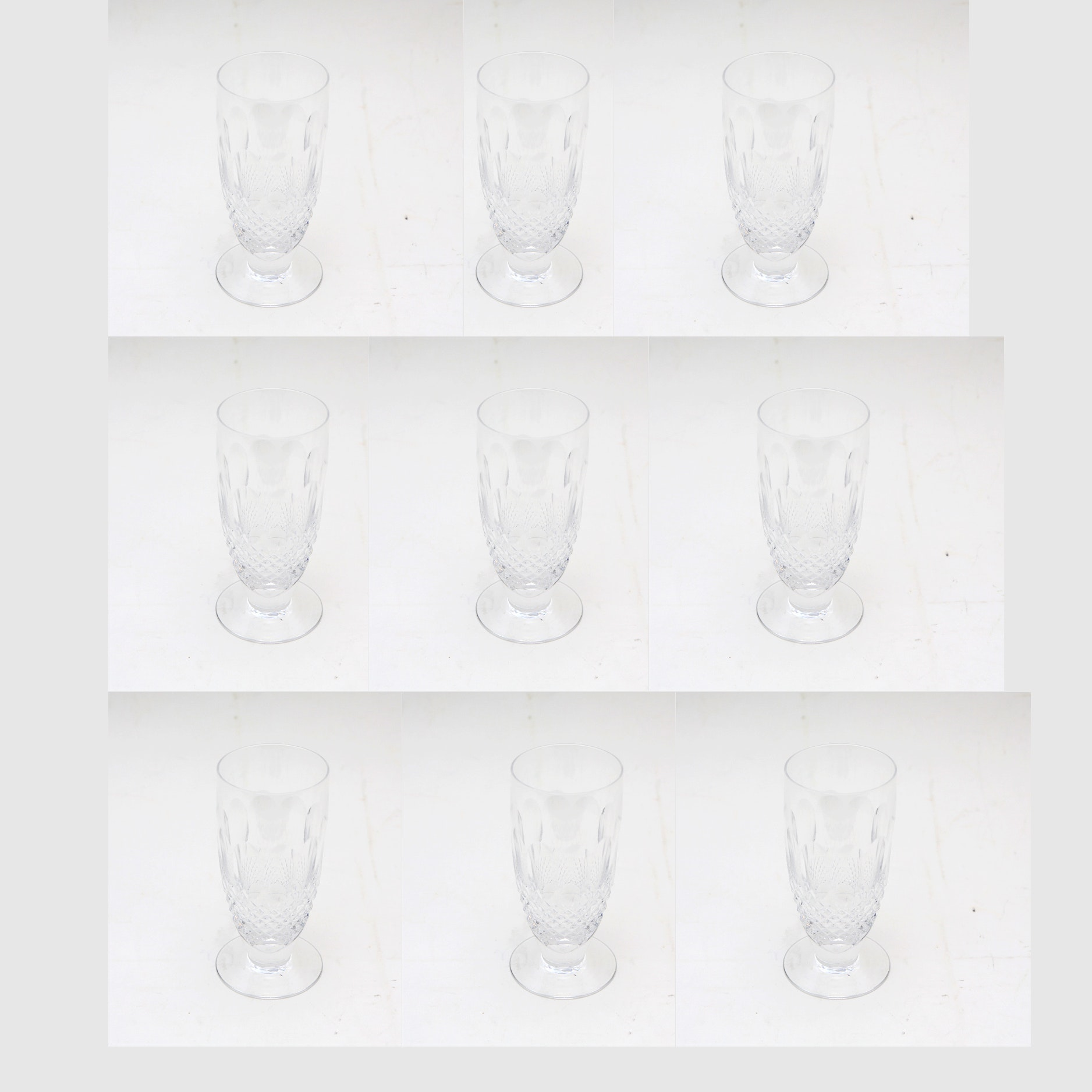 Set of Waterford Crystal Water Goblets