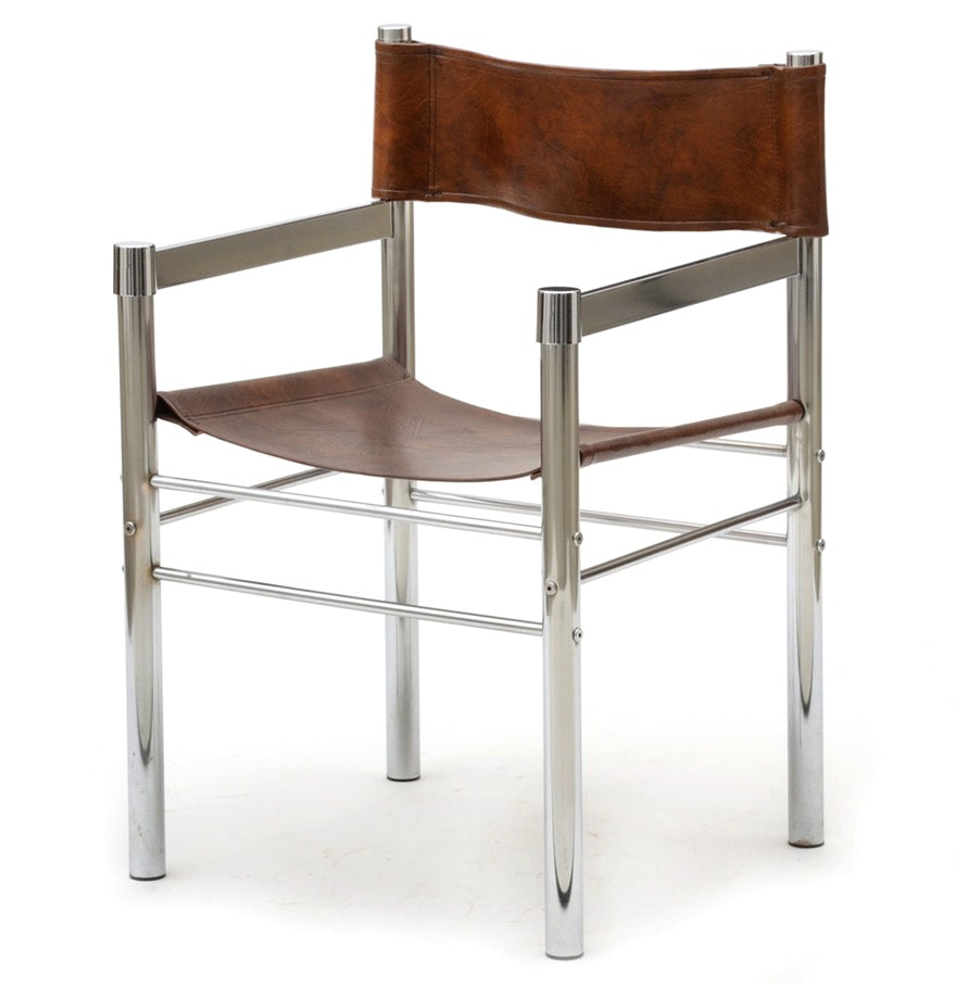 Chrome Arm Chair