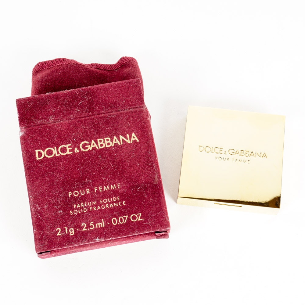 Dolce & Gabbana Solid Fragrance Compact
