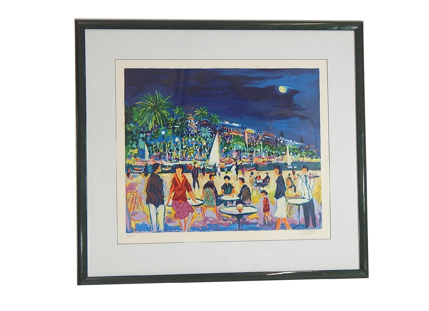 Jean-Claude Picot Signed Seriolithograph