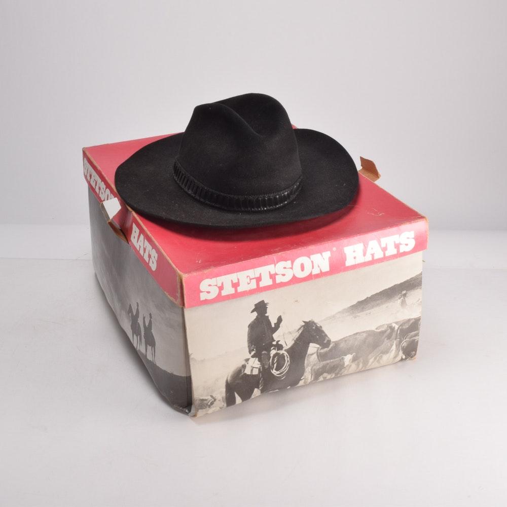Stetson Suede Hat in Original Box