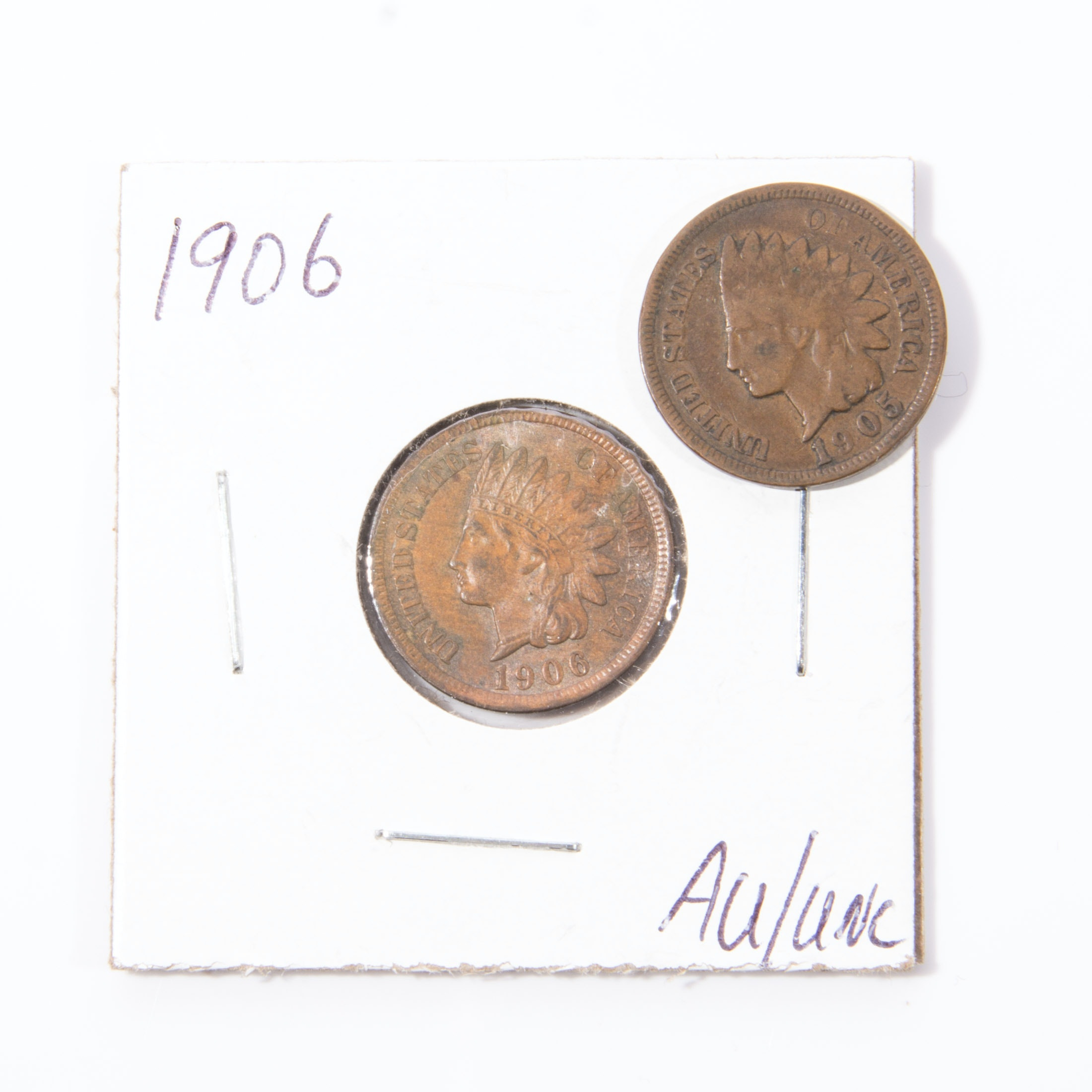 1905 and 1906 Indian Head Cents