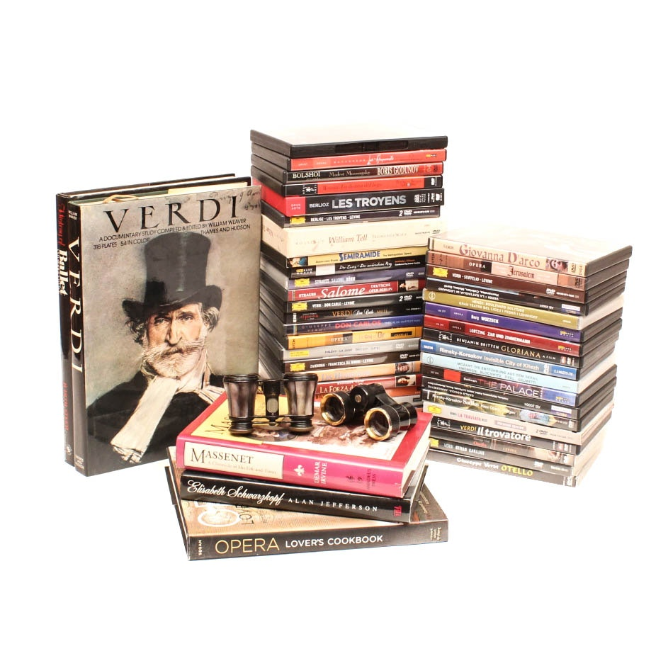 Opera, Orchestral, Ballet DVDs and Books