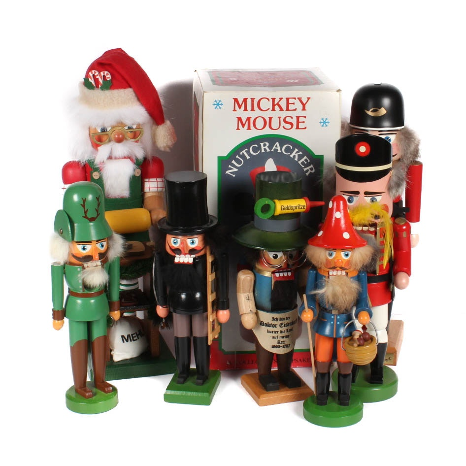 Collection of Nutcrackers Featuring Steinbach