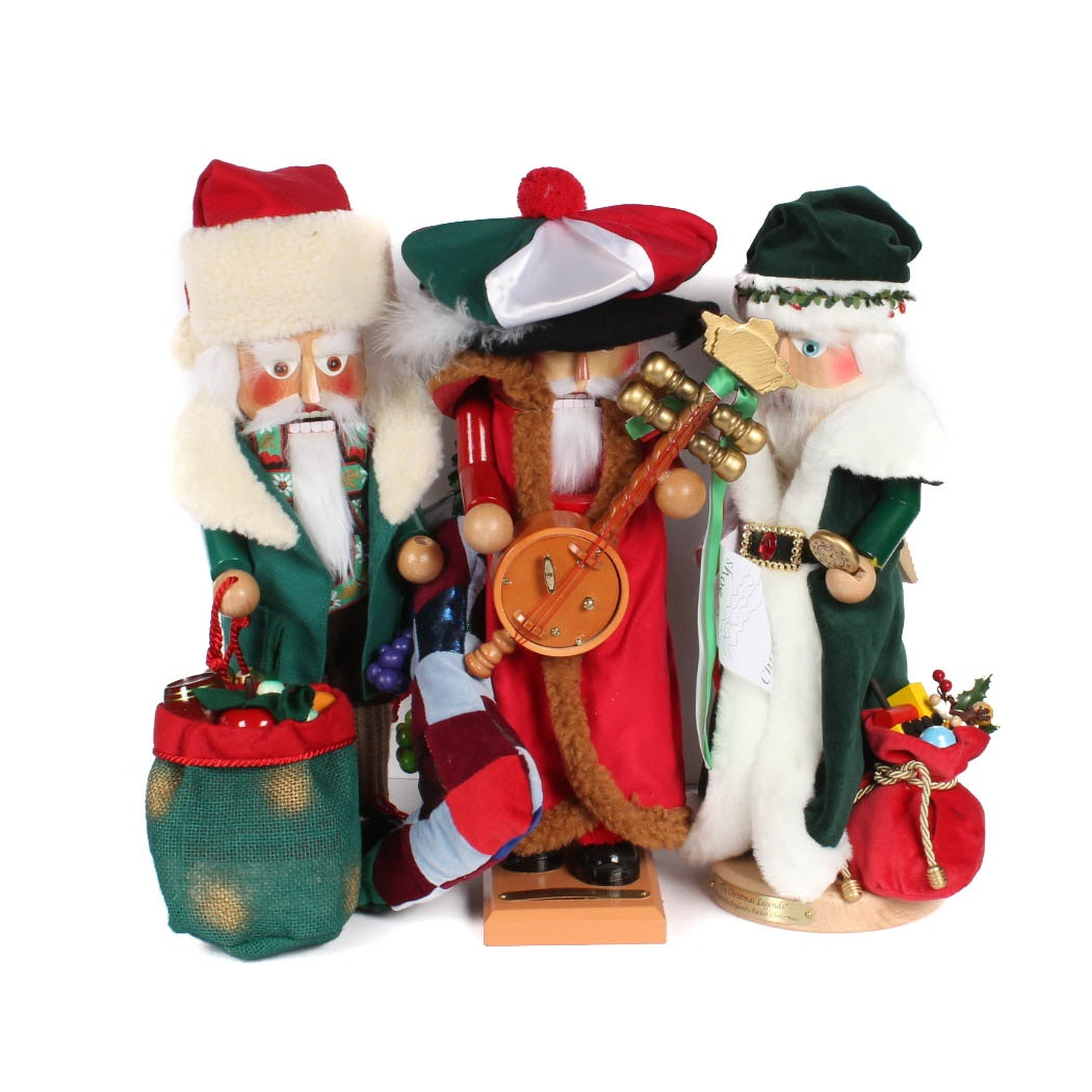 Three Steinbach Nutcrackers