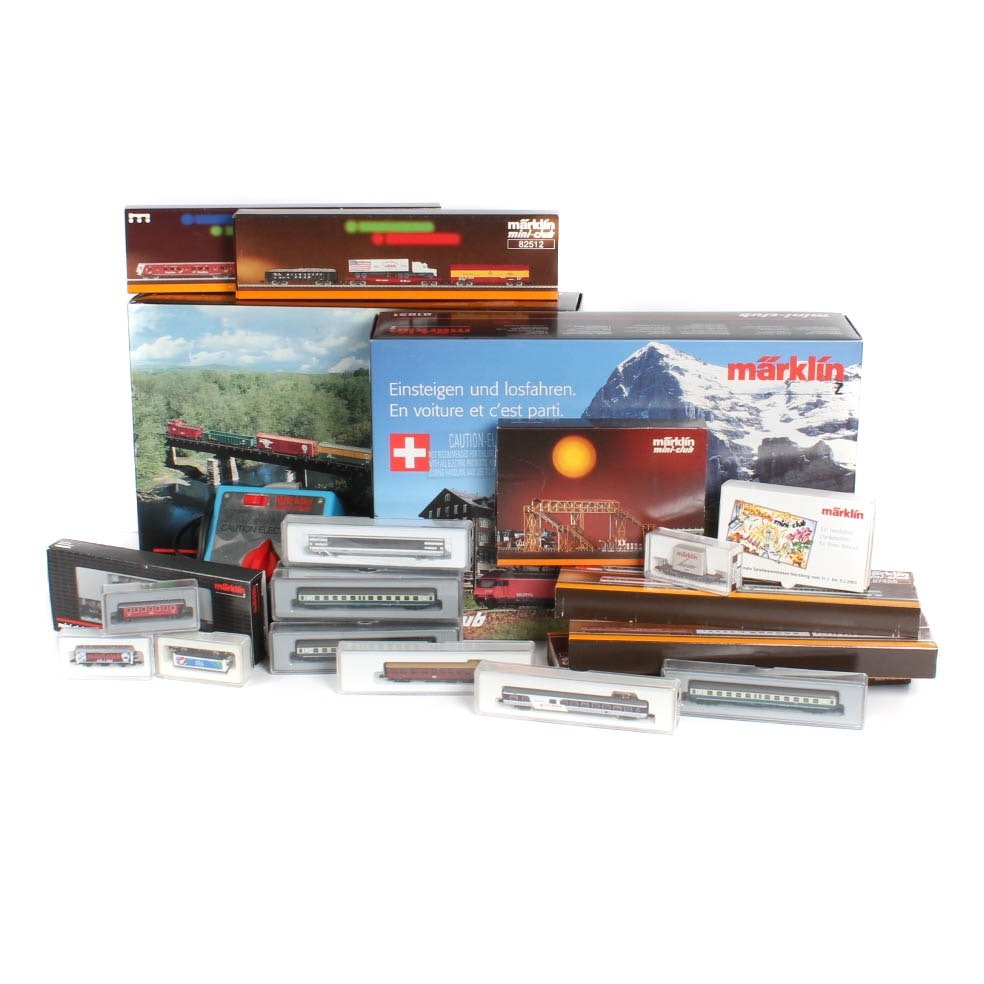 Marklin Z-Gauge Mini-Club Train Collection