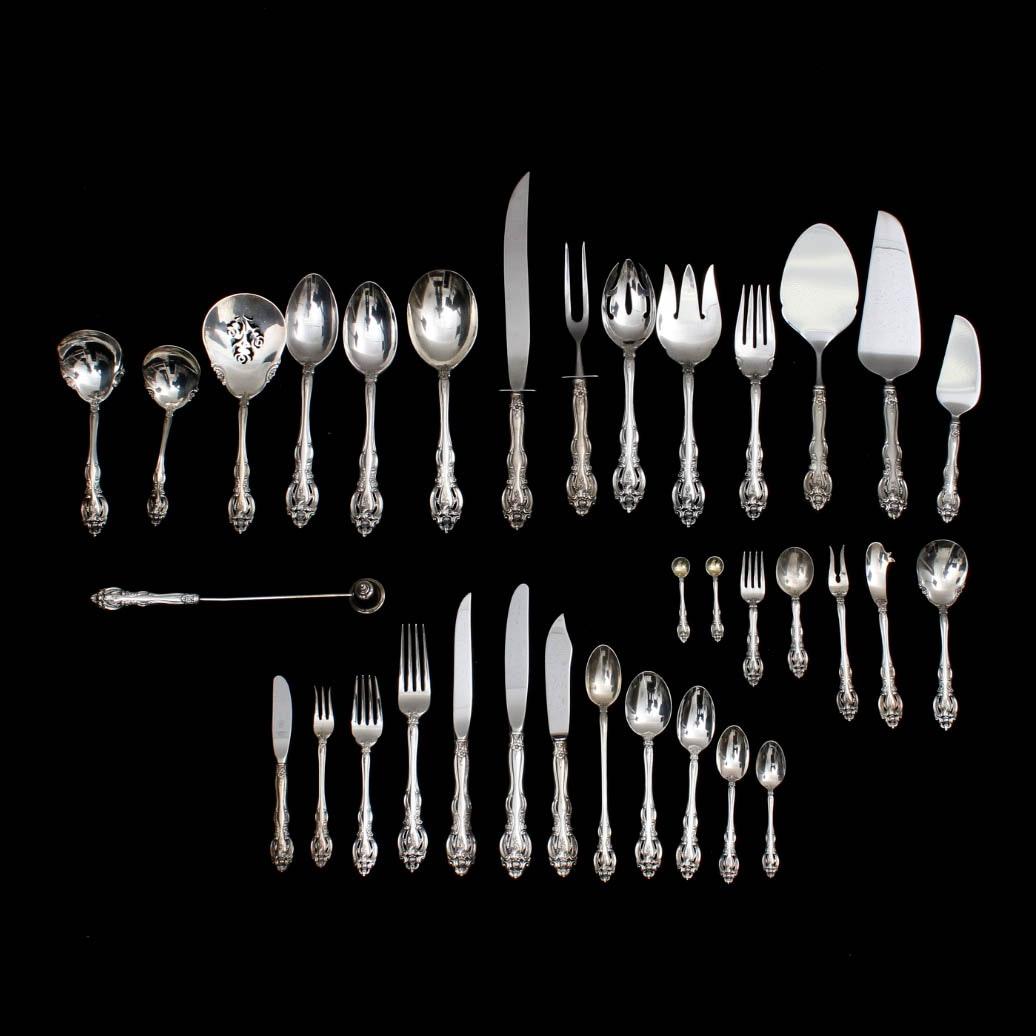 "Gorham ""La Scala"" Sterling Silver Flatware"