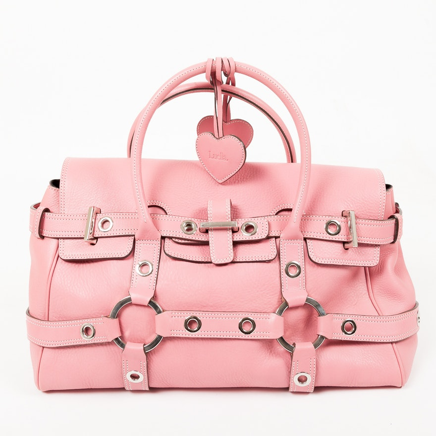 Luella Pink Leather Handbag