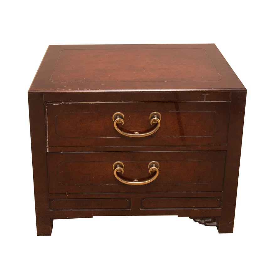 low cost bde9b 3fb45 Chinoiserie Nightstand by White Furniture Company