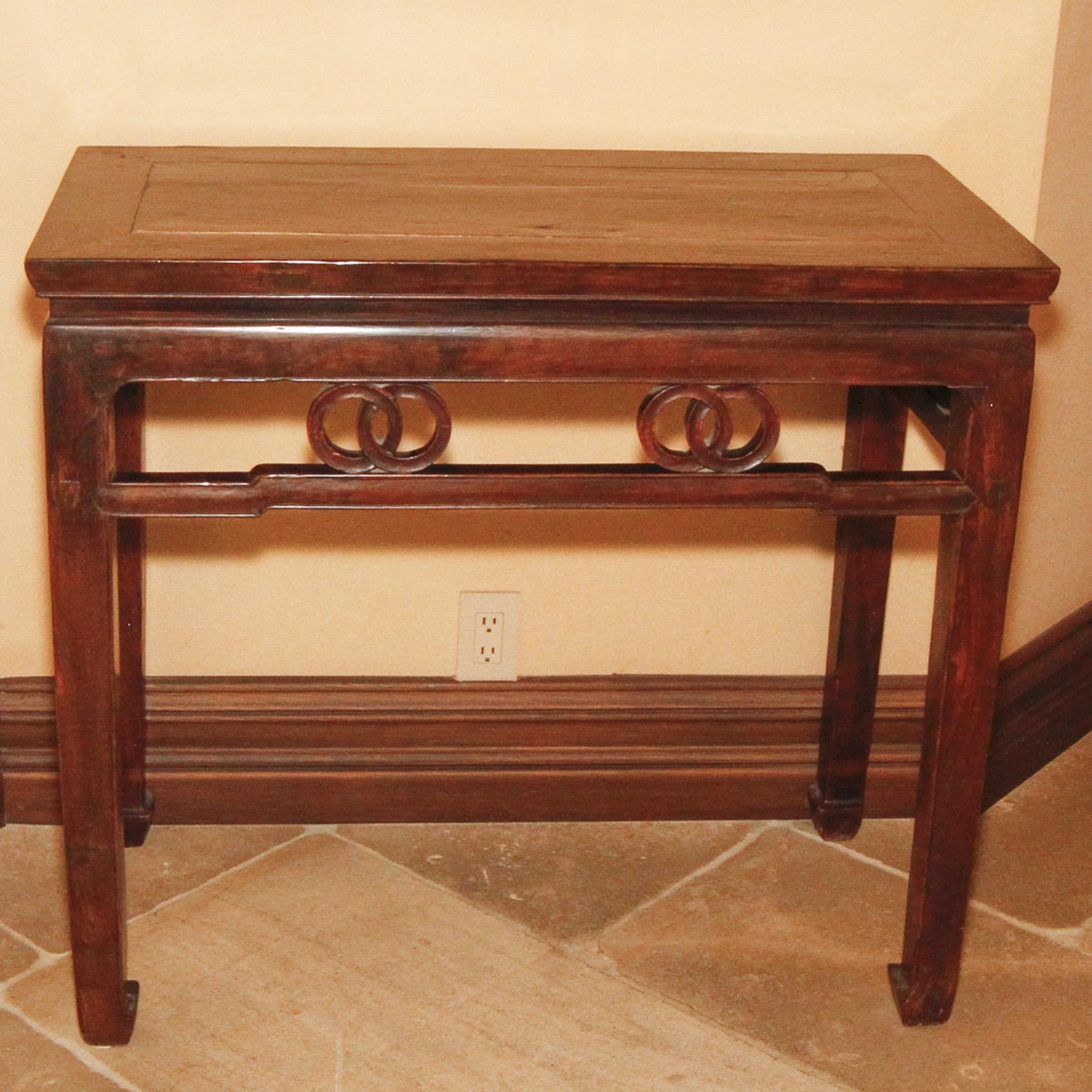 Asian-Inspired Side Table