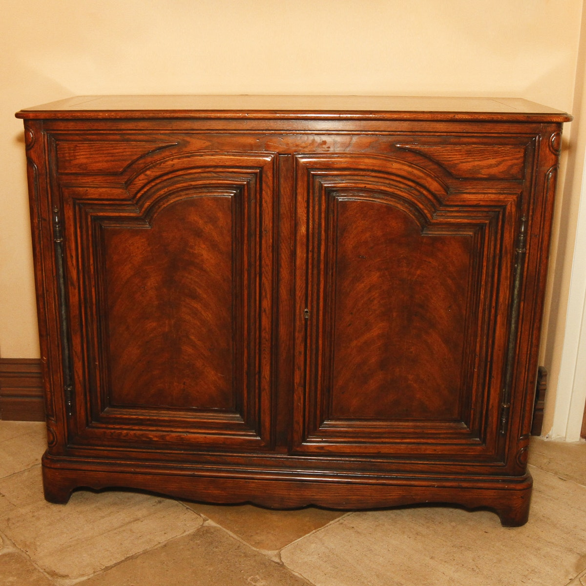 Antique French Oak Cabinet