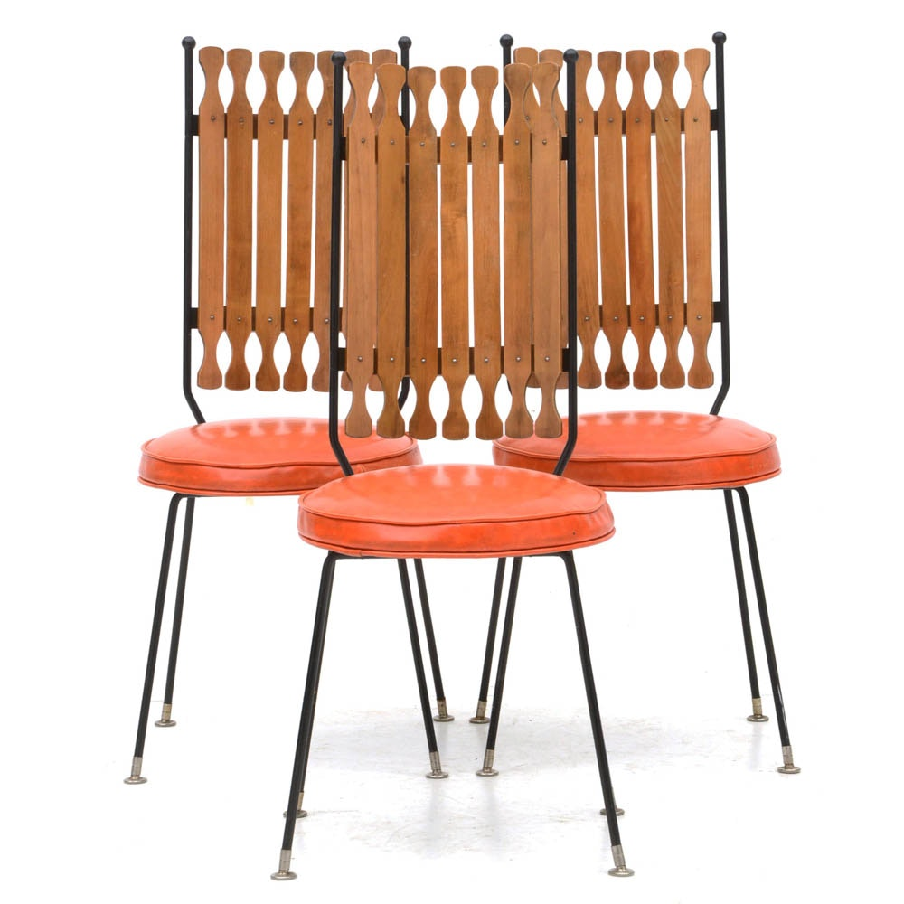 Set of Mid Century Modern Side Chairs