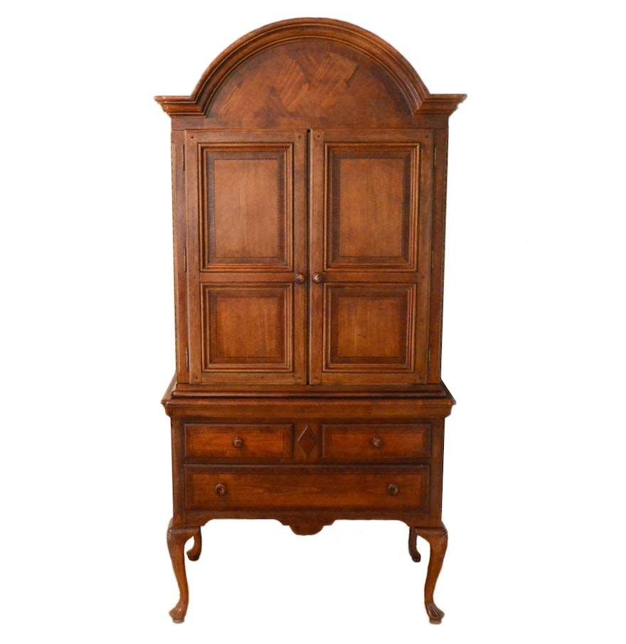 Alexander Julian Home Colours Queen Anne Style Armoire Ebth