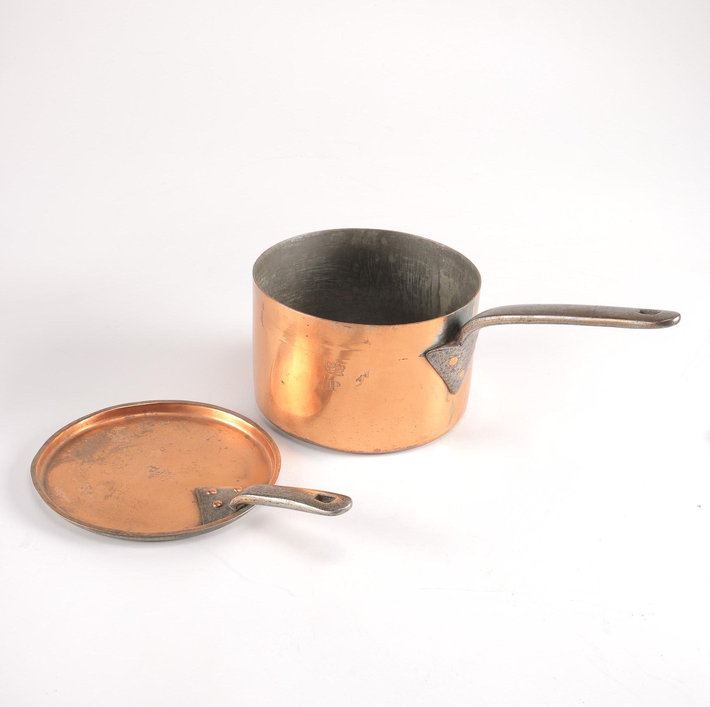 Lidded Copper Pot