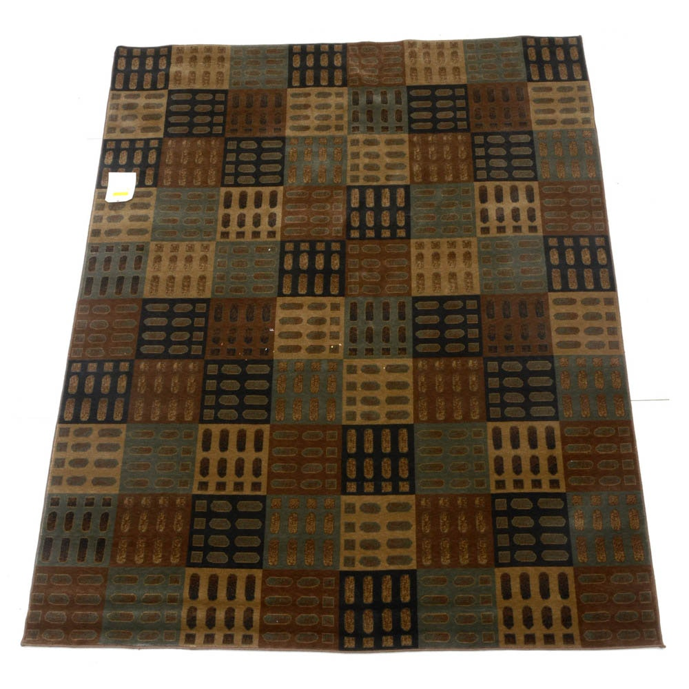 "Karastan Sonoma Machine Woven ""Union Square"" Wool Area Rug"