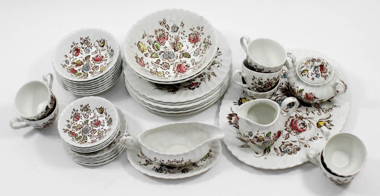 Staffordshire Bouquet Dinnerware Set