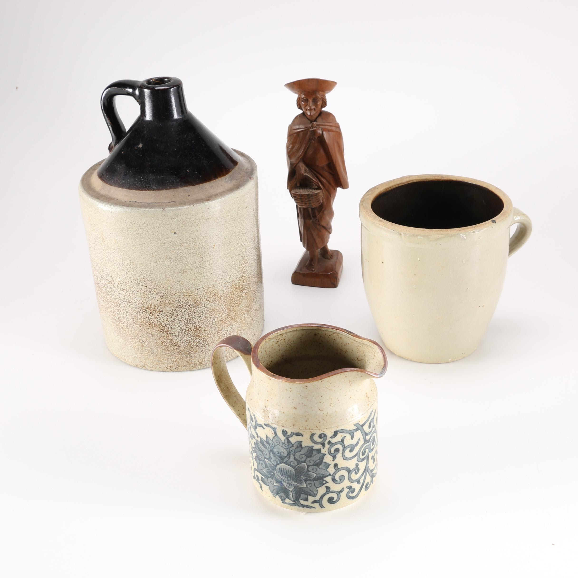 Collection of Stoneware Pieces