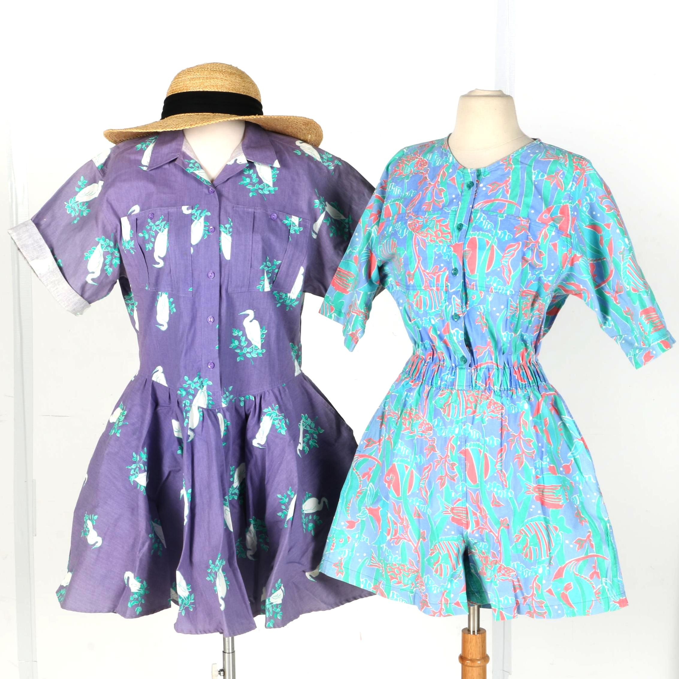 Dresses by Tikal Trading Company Key West and Hat
