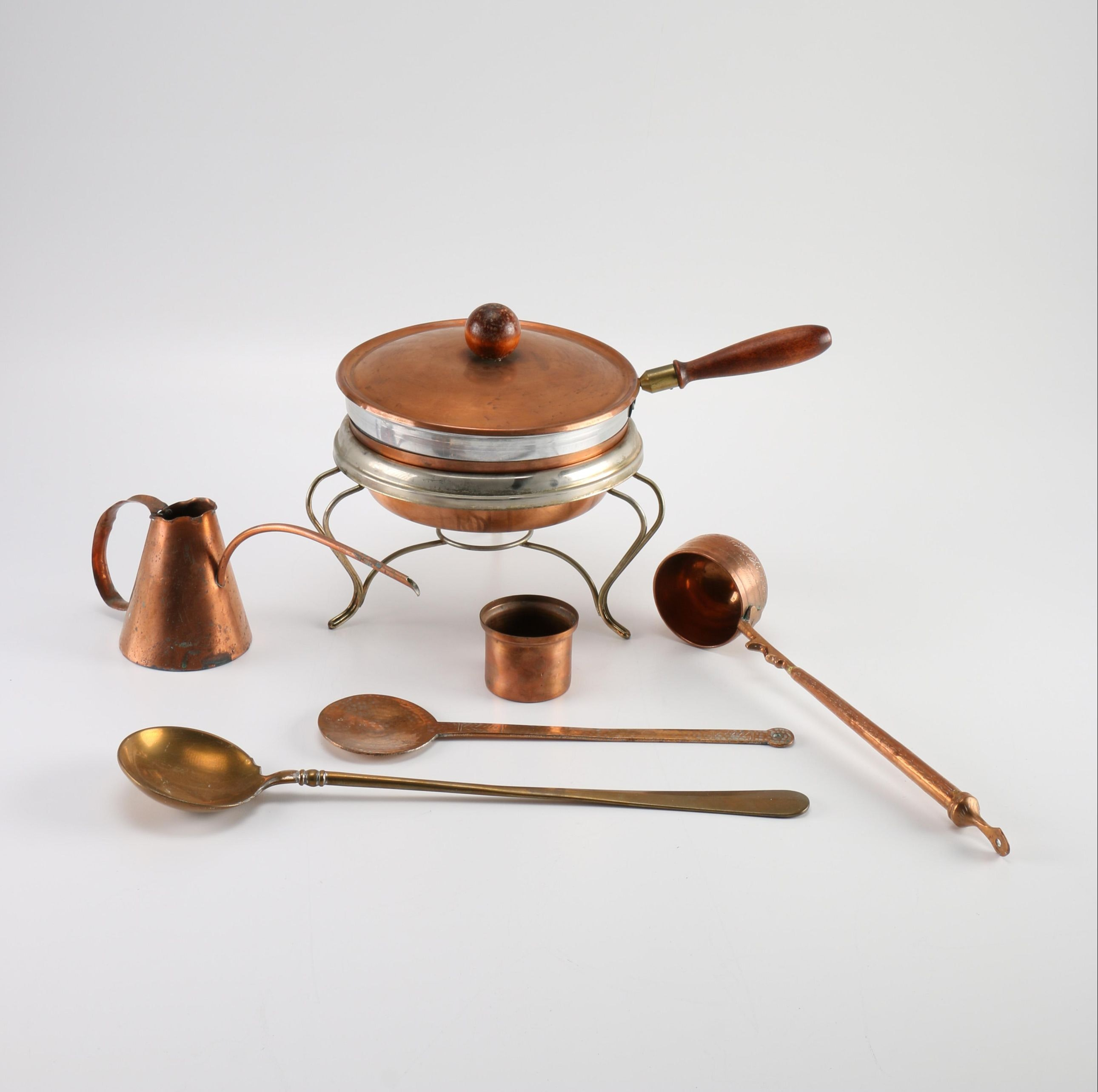 Copper Chafing Dish and More
