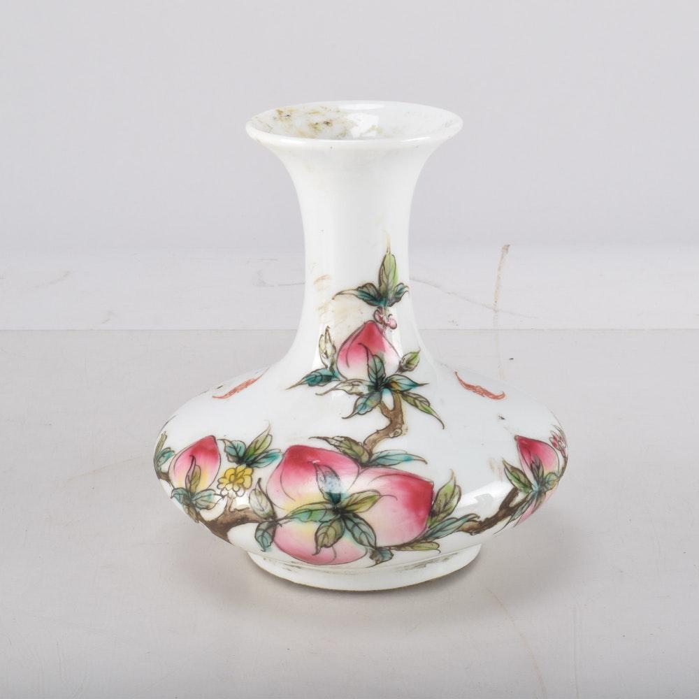 Chinese Republic-Era Hand-Painted Vase