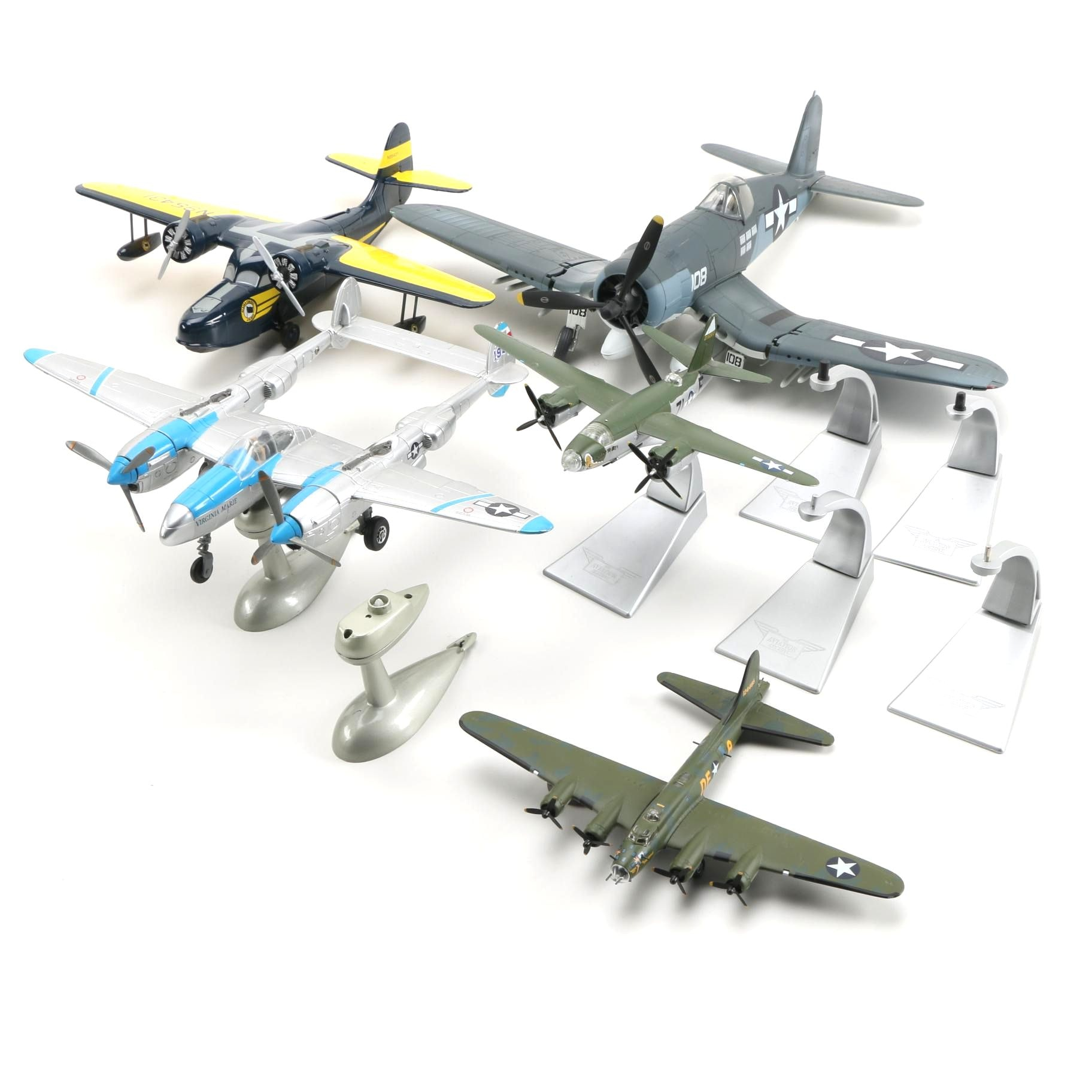 Model Military Airplanes