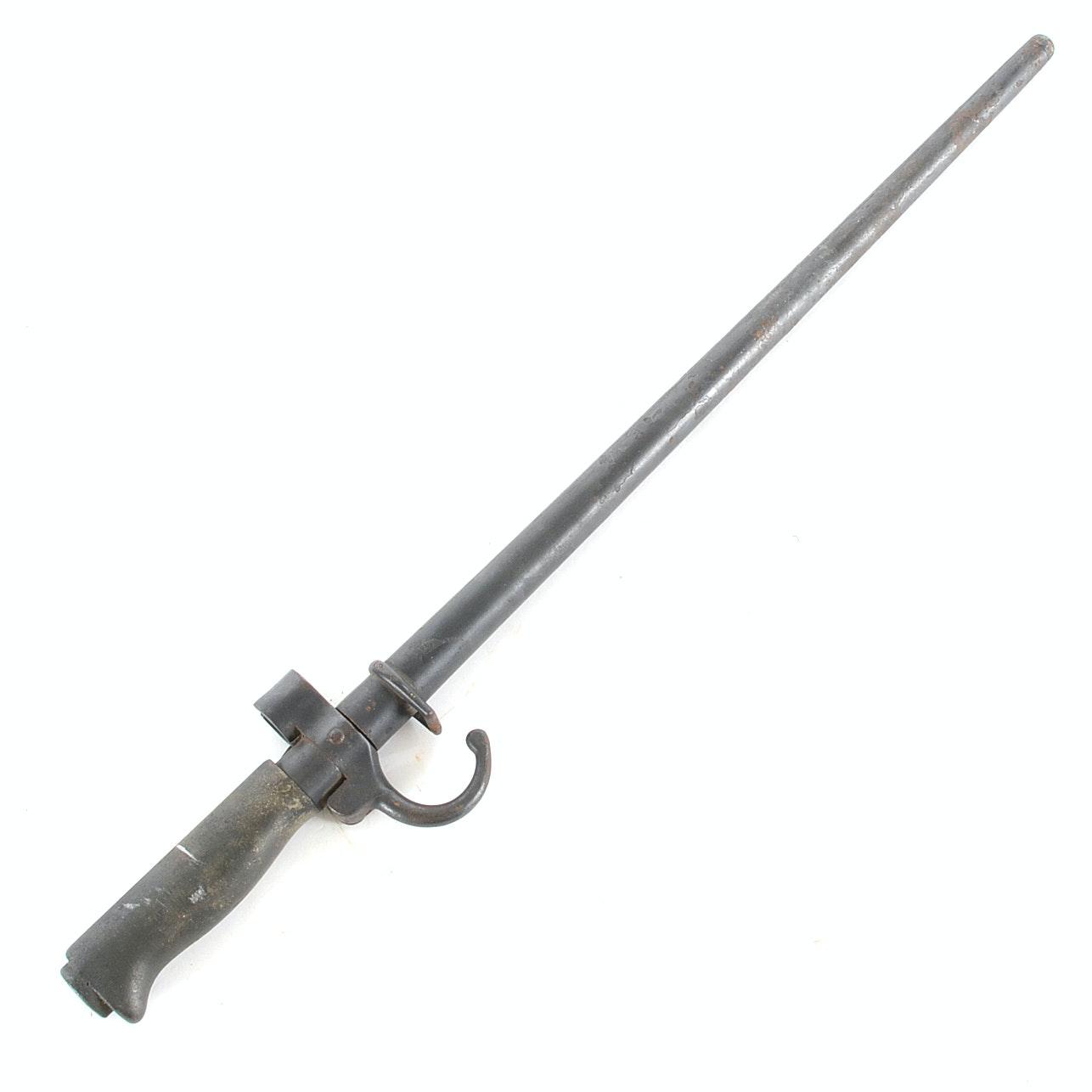 French M1886 Lebel Spike Bayonet