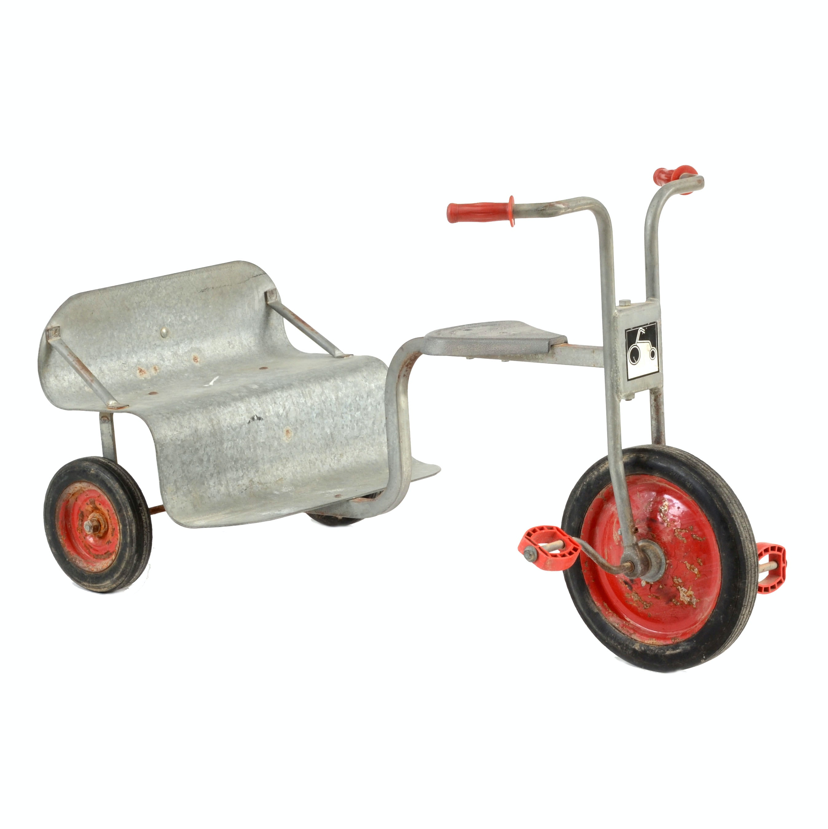 Angeles Two-Seat Tricycle