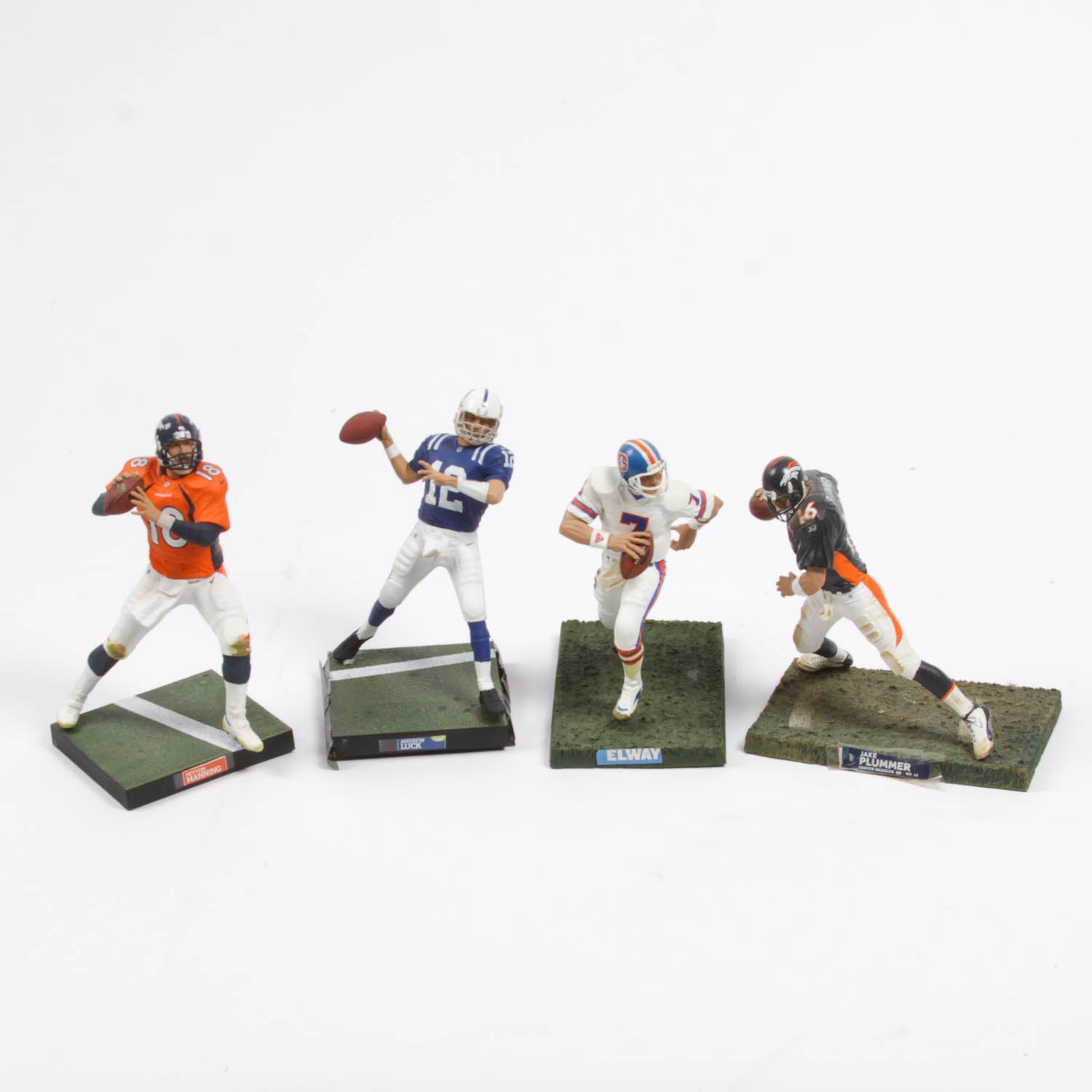 Collection of Famous Football Player Figurines