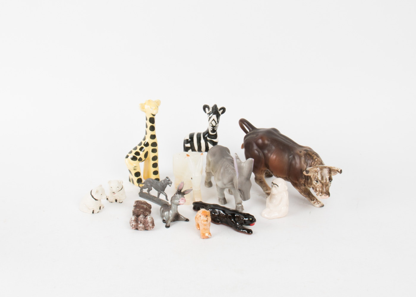 Assortment of Animal and Wildlife Figurines