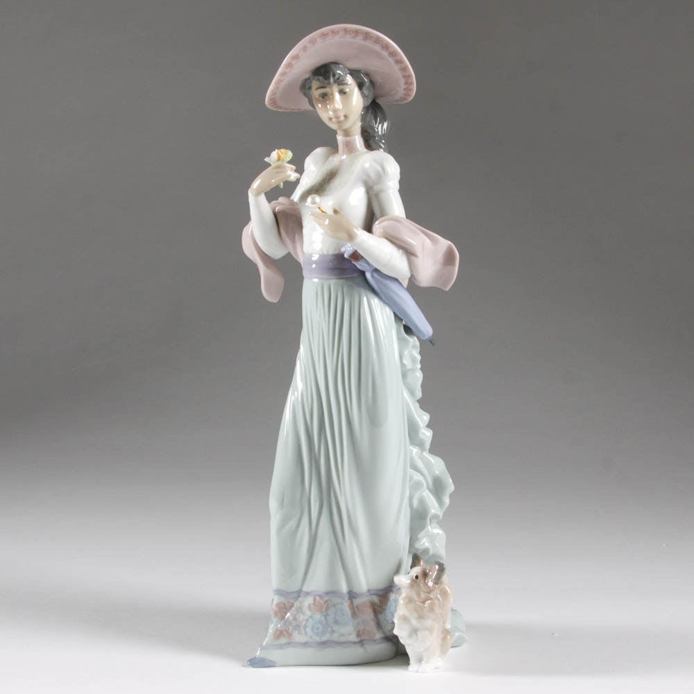 """Sunday's Best"" Lladro Figurine"