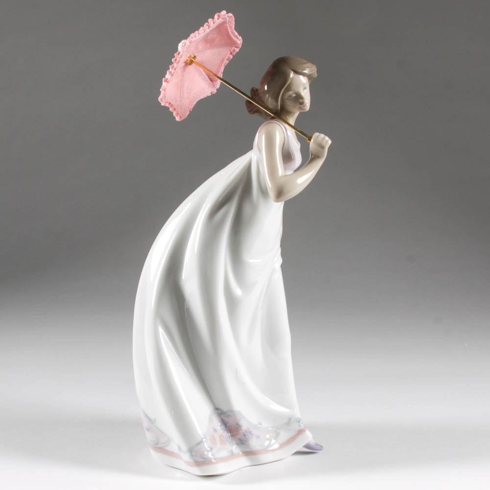 """Afternoon Promenade"" Lladro Figurine"