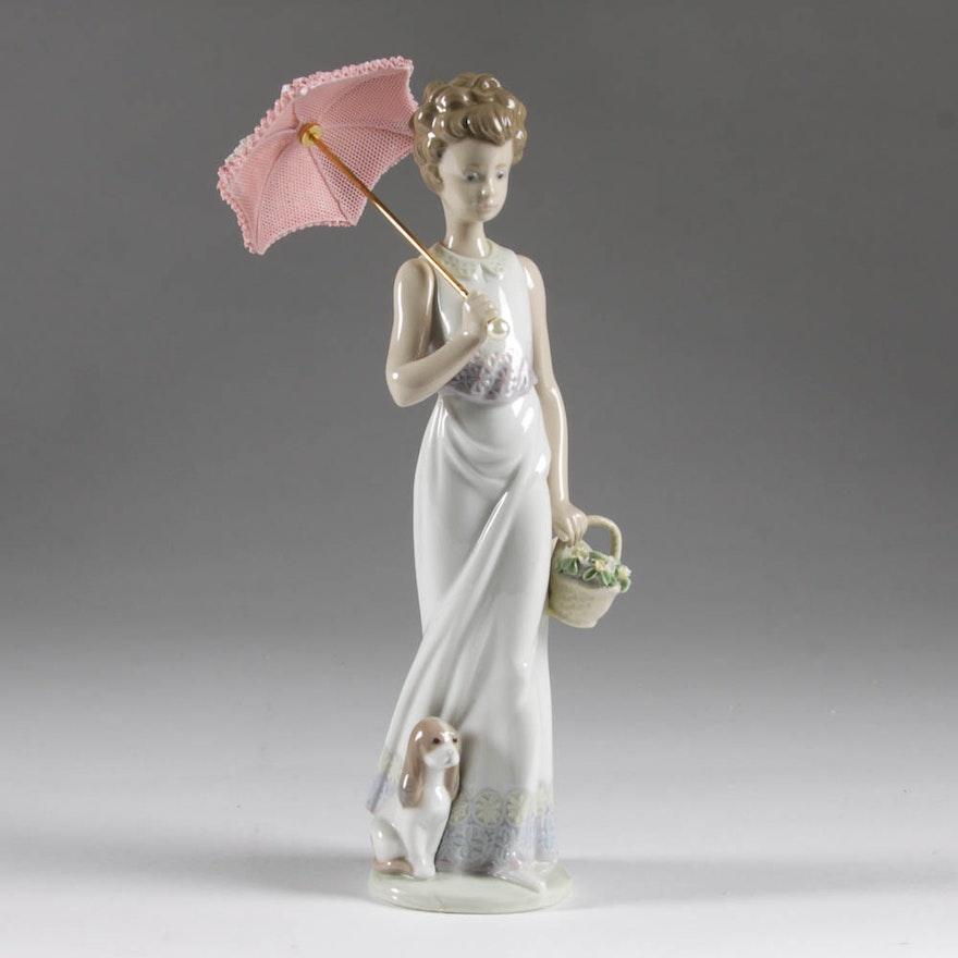 Garden Classic Lladro Figurine Ebth
