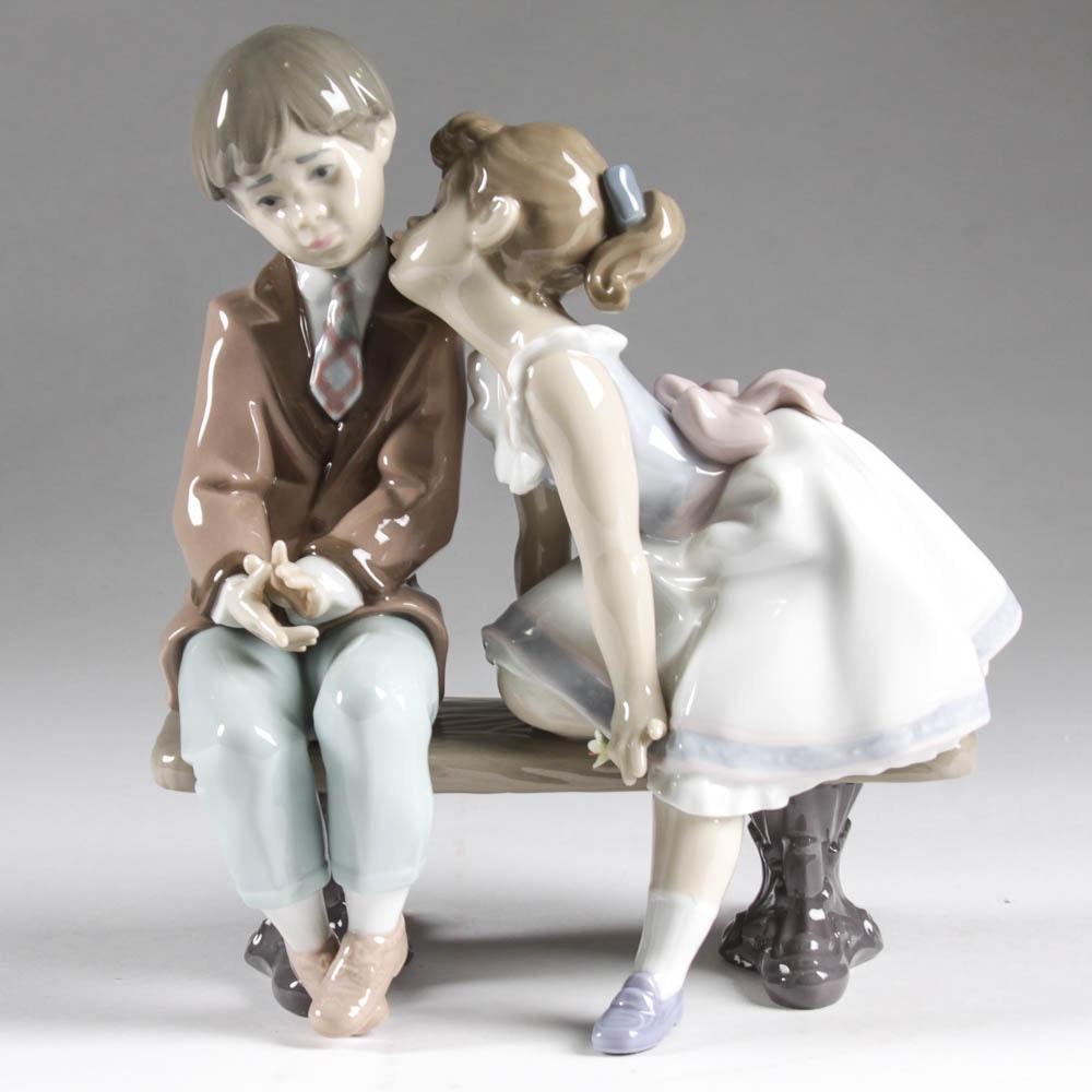 "Lladro Figurine, ""Ten and Growing"
