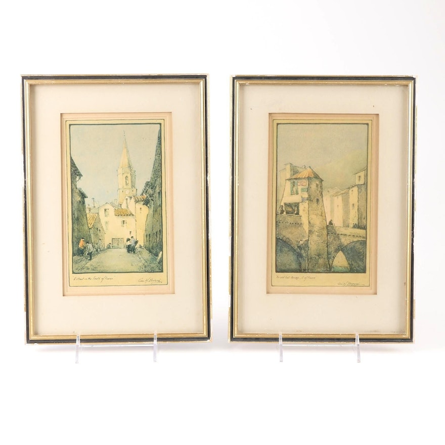 Chromolithograph Prints by Geo H. Downing : EBTH