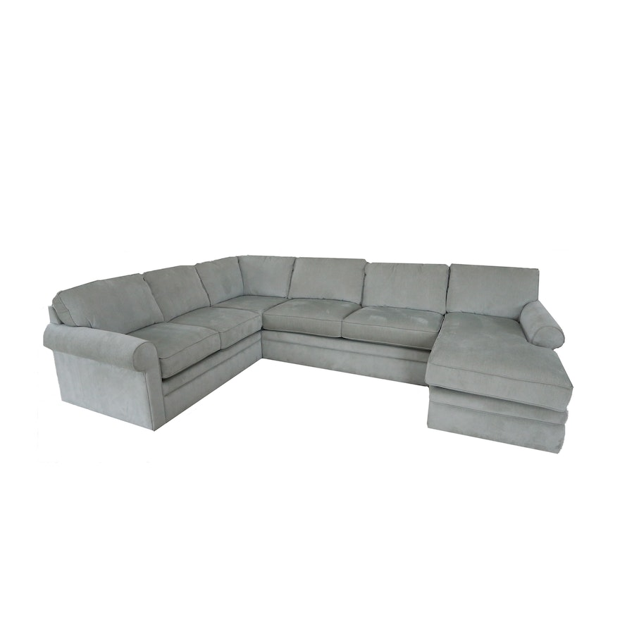 Contemporary sectional sofa by la z boy ebth for La z boy sectional sofas